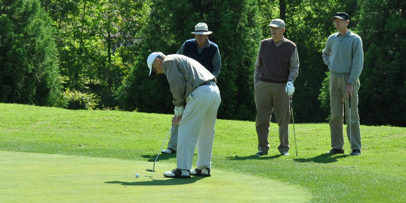 Senior Golfer Tips
