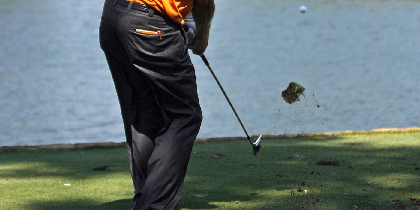 Golf Divots are Good